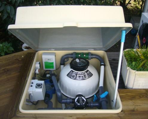 Pompe à chaleur piscine bordeaux Marine et Blanc Piscines